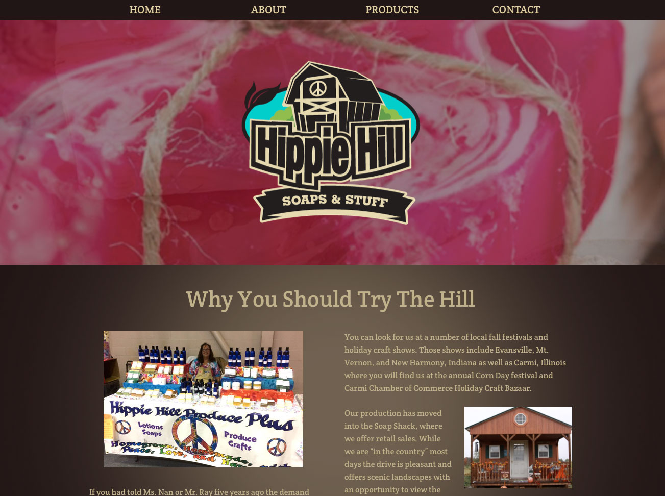 Hippie Hill Website