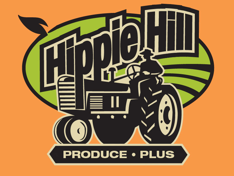 Hippie Hill Produce Plus Logo