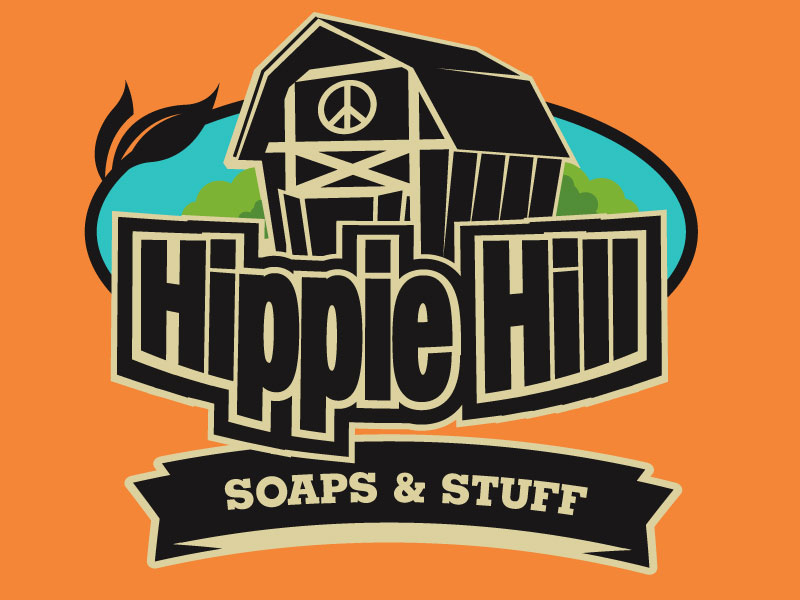 Hippie Hill Soap and Stuff Logo